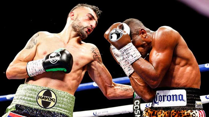 Vanes Martirosyan and Erislandy Lara