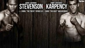 Stevenson vs Karpency preview: September 11, 2015