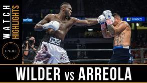 Wilder vs Arreola Highlights: July 16, 2016