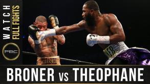 Broner vs Theophane full fight: April 1, 2016
