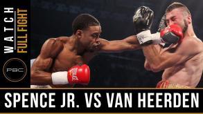 Spence vs Van Heerden full fight: September 11, 2015