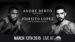 Berto vs Lopez, Porter vs Bone, Arreola vs Harper highlights: March 13, 2015