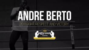 Andre Berto: 2011 fight, respect and victory