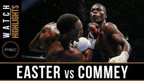 Easter vs Commey highlights: September 9, 2016