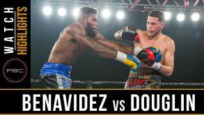 Benavidez vs Douglin highlights: August 5, 2016