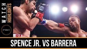 Spence vs Barrera highlights: November 28, 2015