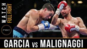 Garcia vs Malignaggi full fight: August  1, 2015