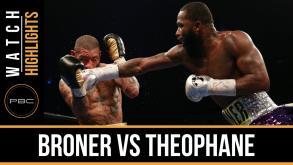 Broner vs Theophane highlights: April 1, 2016