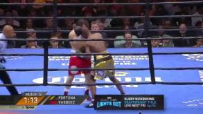 Fortuna vs Vasquez full fight: May 29, 2015