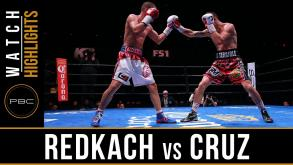 Redkach vs Cruz highlights: April 19, 2016