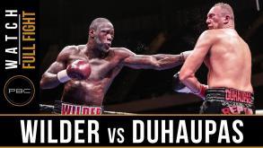Wilder vs Duhaupas full fight: September 26, 2015