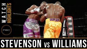 Stevenson vs Williams highlights: July 29, 2016