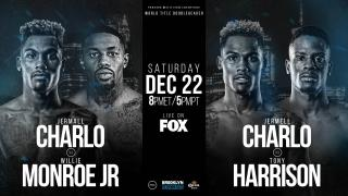 Charlo vs Monroe and Charlo vs Harrison Fight Week Preview: December 22, 2018