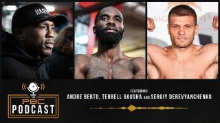 Andre Berto, Sergiy Derevyanchenko & Terrell Gausha join The PBC Podcast