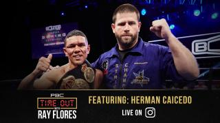 Boxing Trainer Herman Caicedo Drops Some Knowledge