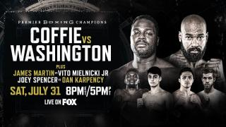 Coffie vs Washington PREVIEW: July 31, 2021