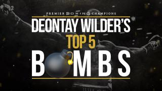Top 5 Deontay Wilder Bombs