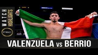Embedded thumbnail for Valenzuela vs Berrio: HIGHLIGHTS: September 18, 2021 | PBC on FS1