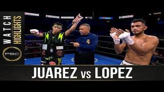 Embedded thumbnail for Juarez vs Lopez HIGHLIGHTS: September 19, 2021 | PBC on FS1