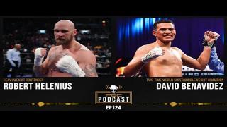 Embedded thumbnail for David Benavidez, Robert Helenius & Canelo-Plant | The PBC Podcast