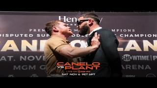 Embedded thumbnail for Canelo vs Plant: The War of Words Before the Battle of Wills on November 6