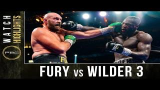Embedded thumbnail for Tyson Fury vs Deontay Wilder TRILOGY HIGHLIGHTS: October 9, 2021