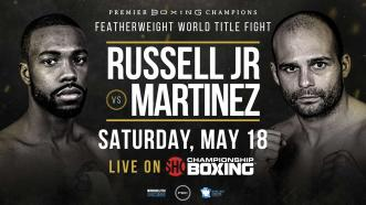 Gary Russell Jr. defends title vs Kiko Martinez May 18 on Showtime