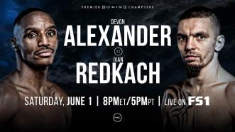 Former World Champ Devon Alexander meets Ivan Redkach June 1 on FS1