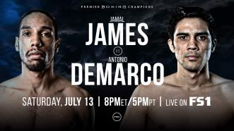 Jamal James faces former Champ Antonio DeMarco July 13 on FS1
