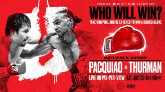POLL: Who wins in Manny Pacquiao vs Keith Thurman?