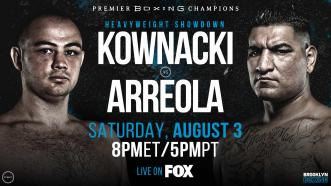 Polish star Adam Kownacki battles Chris Arreola August 3 on FOX