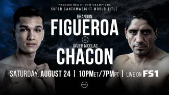 Brandon Figueroa defends interim 122-pound title August 24 on FS1