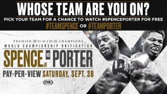 Spence vs Porter: Whose team are you on?