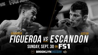 Featherweight contender Brandon Figueroa takes on former title challenger Oscar Escandon in new main event of PBC on FS1