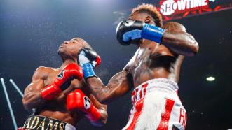 Jermall Charlo Thrills Hometown Crowd with Win over Brandon Adams