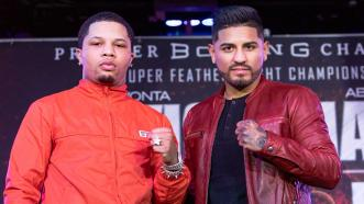 Gervonta Davis and Abner Mares discuss their Feb. 9 PBC on Showtime title tilt