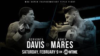 Gervonta Davis meets Abner Mares February 9 on Showtime