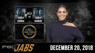 PBC Jabs: December 20, 2018 — Ending 2018 with a bang