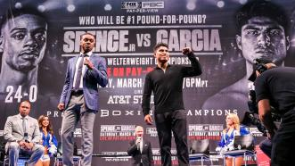 Spence-Garcia title fight to be shown in movie theaters nationwide