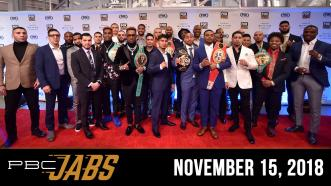 Go behind-the-scenes at the PBC on FOX fight schedule announcement