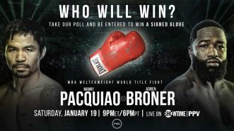 POLL: Who wins in Pacquiao vs Broner?