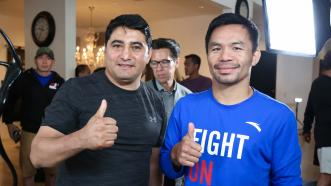 Legends Collide: Manny Pacquiao and Erik Morales Re-Connect