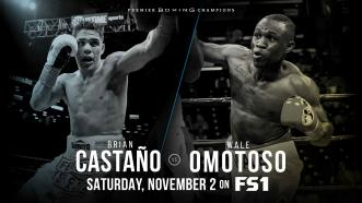 Former 154-LB Champ Brian Castaño faces Wale Omotoso Nov. 2 on FS1