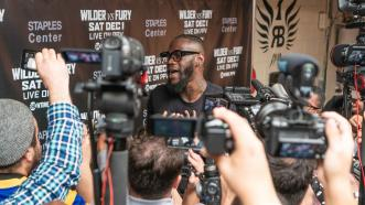 Deontay Wilder staying balanced despite added pressure in build-up to Tyson Fury bout