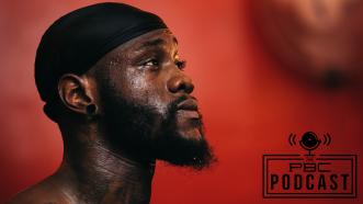 Deontay Wilder checks in this week on The PBC Podcast