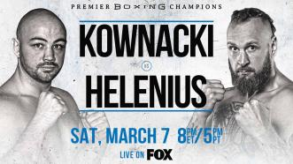 Polish Star Adam Kownacki battles Robert Helenius in a WBA Title Eliminator March 7 on FOX