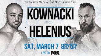 Polish Star Adam Kownacki battles Robert Helenius in a WBA Title Eliminator March 7 on FOX