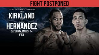 PBC on FS1 event on March 14 in Maryland Postponed