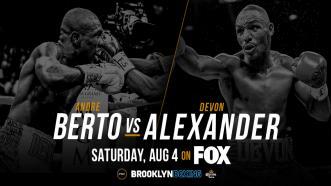 Berto vs Alexander