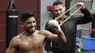 Abner Mares and Luis Garcia